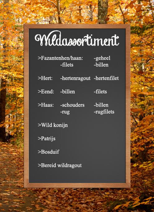 Wildassortiment